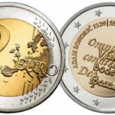2 Euro Slovenia 2020 - 500° Anniversario della nascita di Adam Bohorič