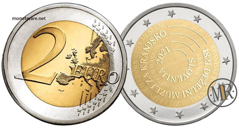 2 Euro Commemorativi Slovenia 2021