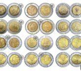 500 Lire San Marino Bimetallic Coins