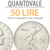 """QuantoVale"" 50 Lire Italiane"