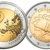 2 Euro Slovenia 2007 - 50° anniversario dei Trattati di Roma