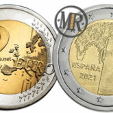 2 Euro Spagna 2021 - Centro Storico di Toledo
