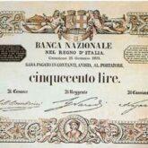 Italian 500 Lire Banknote