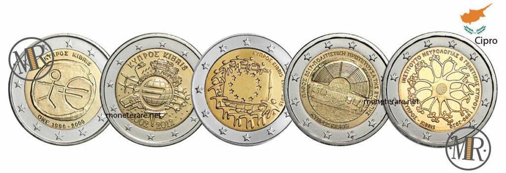 2 Euro Commemorativi Cipro Eurocollezione