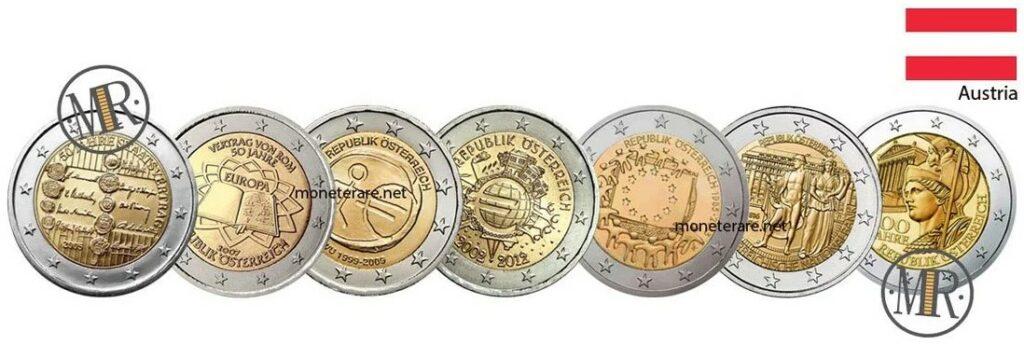 2 Euro Commemorative Coins Austria