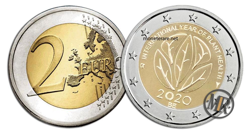 Belgium 2 Euro 2020 - Year of Plant Health