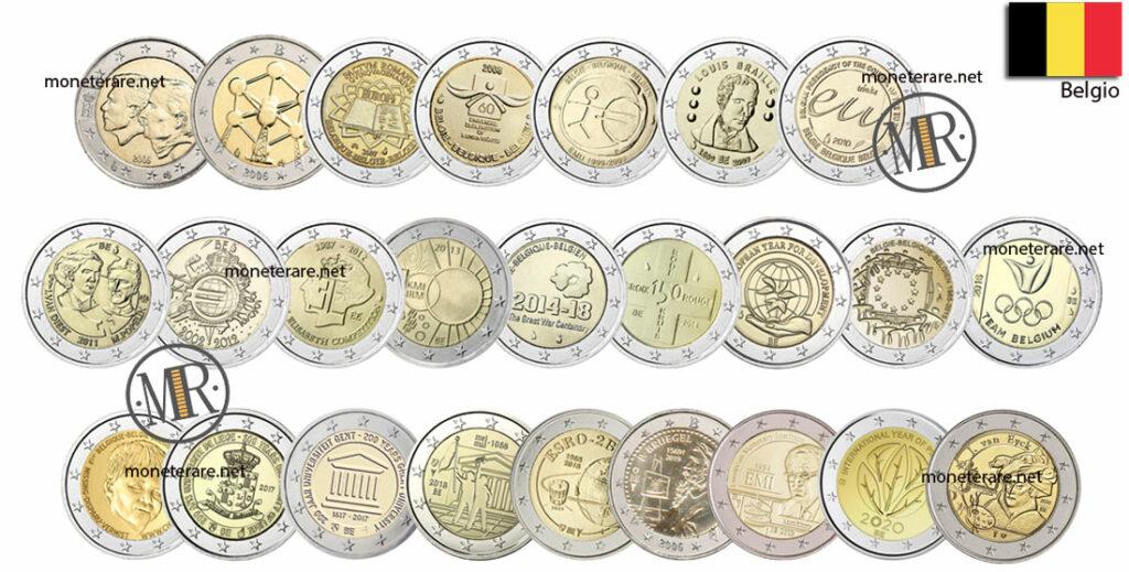 2 Euro Commemorativi Belgio