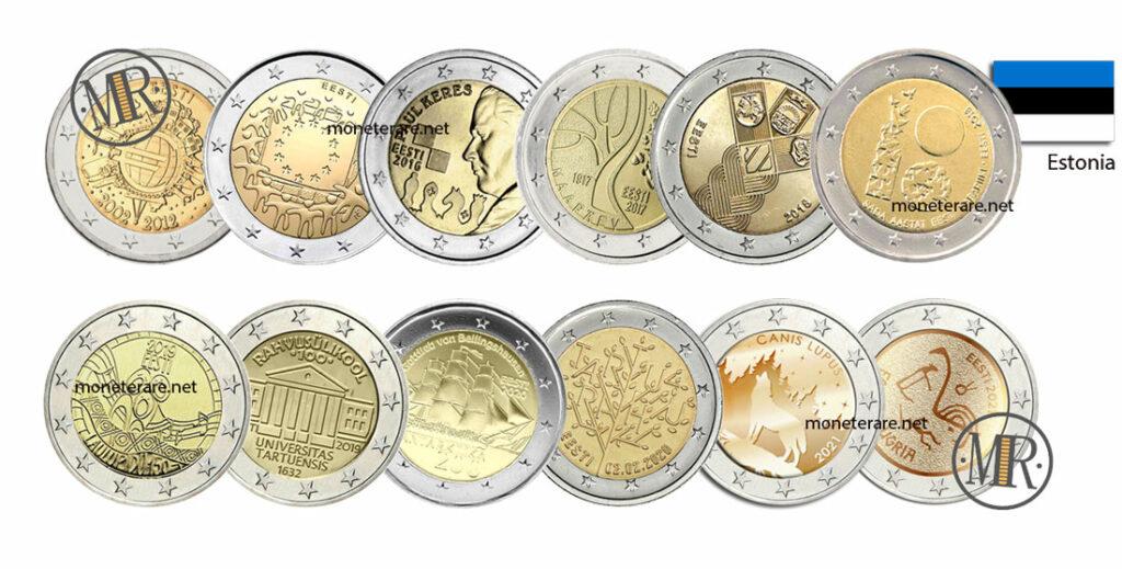 2 Euro Commemorativi Estonia
