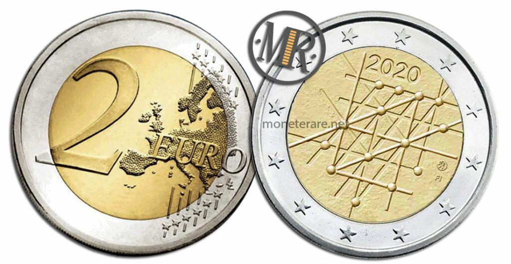 2 Euro Finland 2020 Coin - University of Turku
