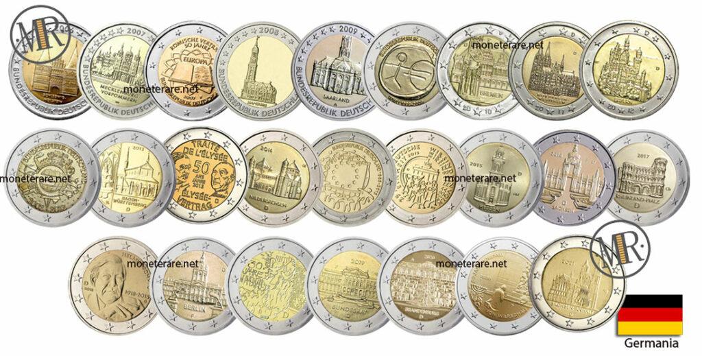 2 Euro Commemorativi Germania