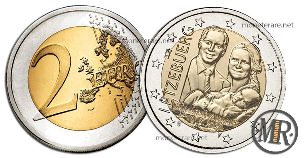 2 Euro Luxembourg 2020 - Prince Charles