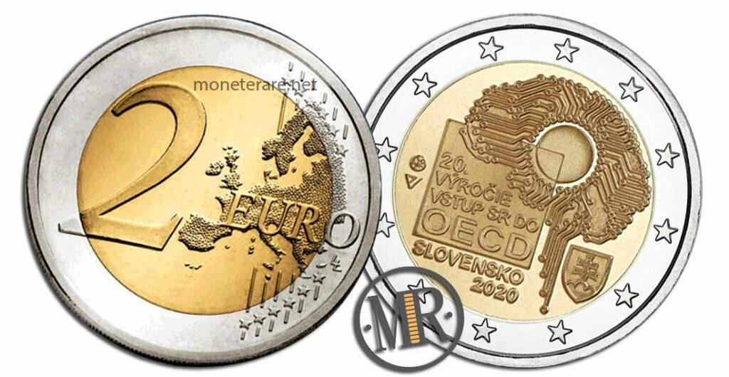 Slovakia 2 Euro Coins 2020 - OECD