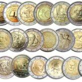 2 Euro Italy Commemorative Coins