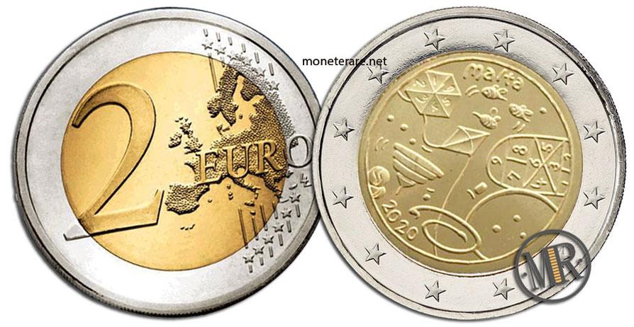 2 Euro Malta 2020 Coin - Games