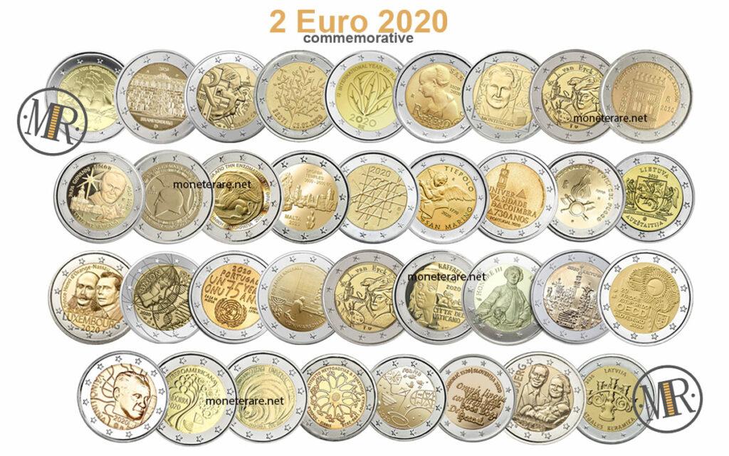 2 euro 2020 commemorative