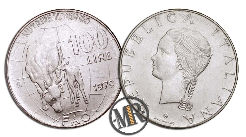 100 Lire FAO 1979