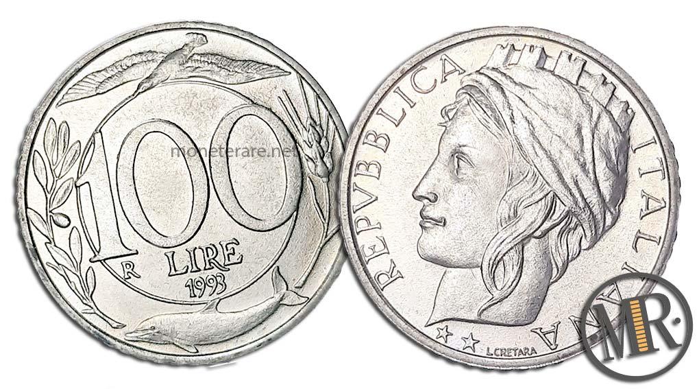 100 Lire Italia Turrita
