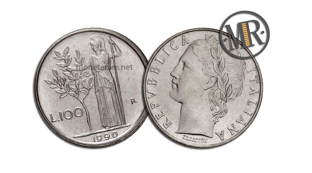 100 Lire Minerva PICCOLE