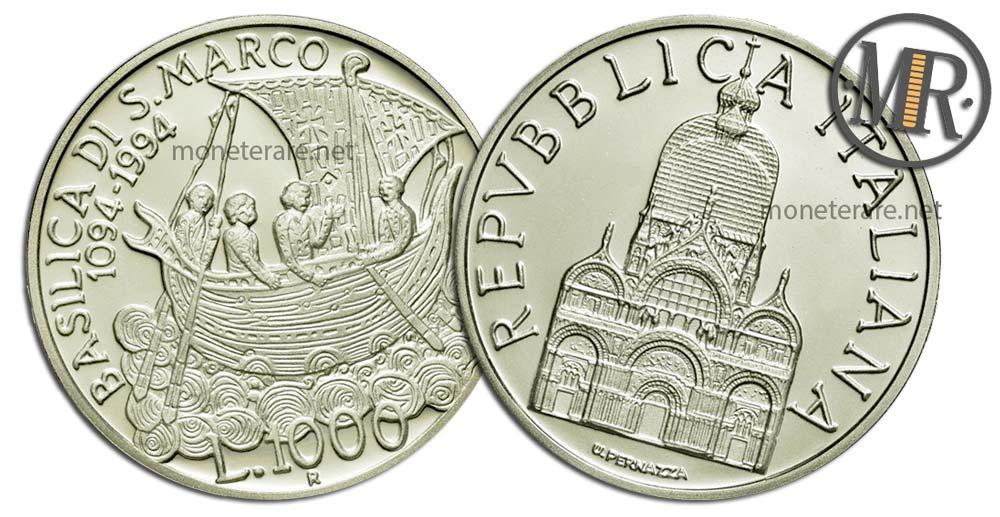 1000 Lire 1994 Anno Marciano in Venezia