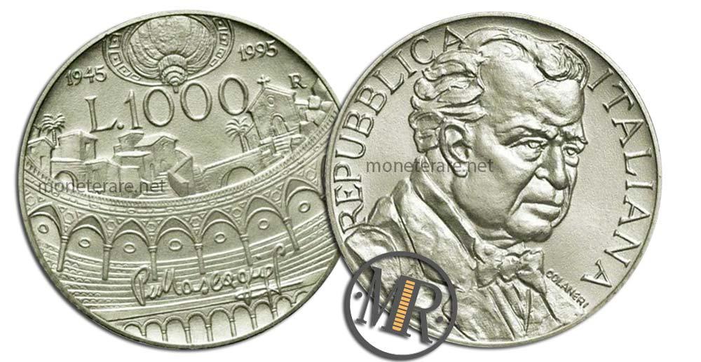1000 Lire 1995 Pietro Mascagni