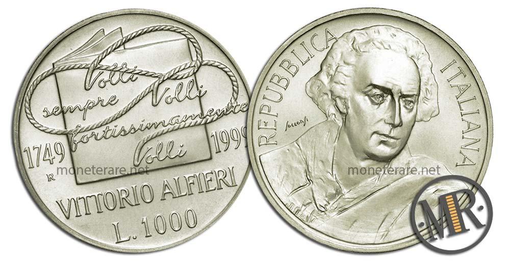 1000 Lire 1999 Vittorio Alfieri
