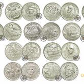 1000 Lire Monete Commemorative in Argento