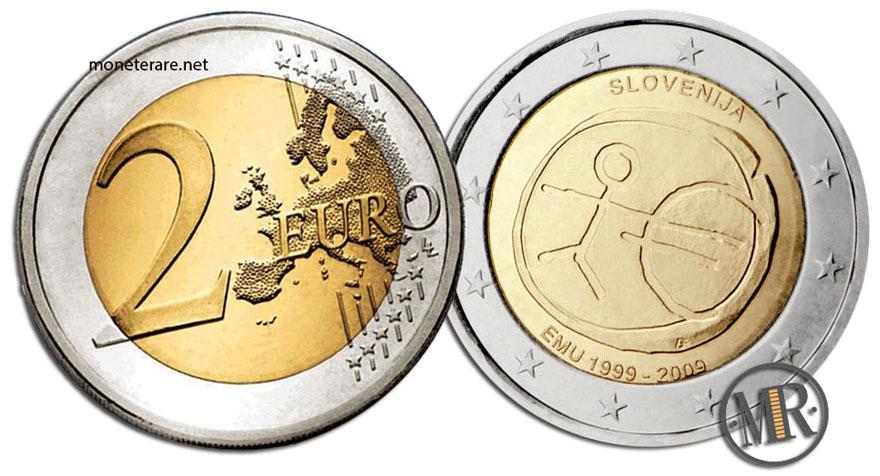 2 Euro Commemorativi Slovenia 2009 UEM