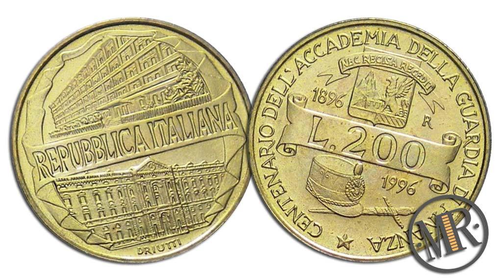 200 Lire 1996 - Guardia di Finanza