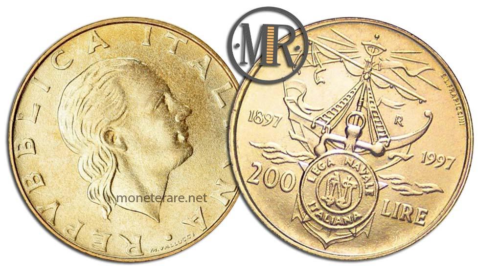 200 Lire 1997 Lega Navale