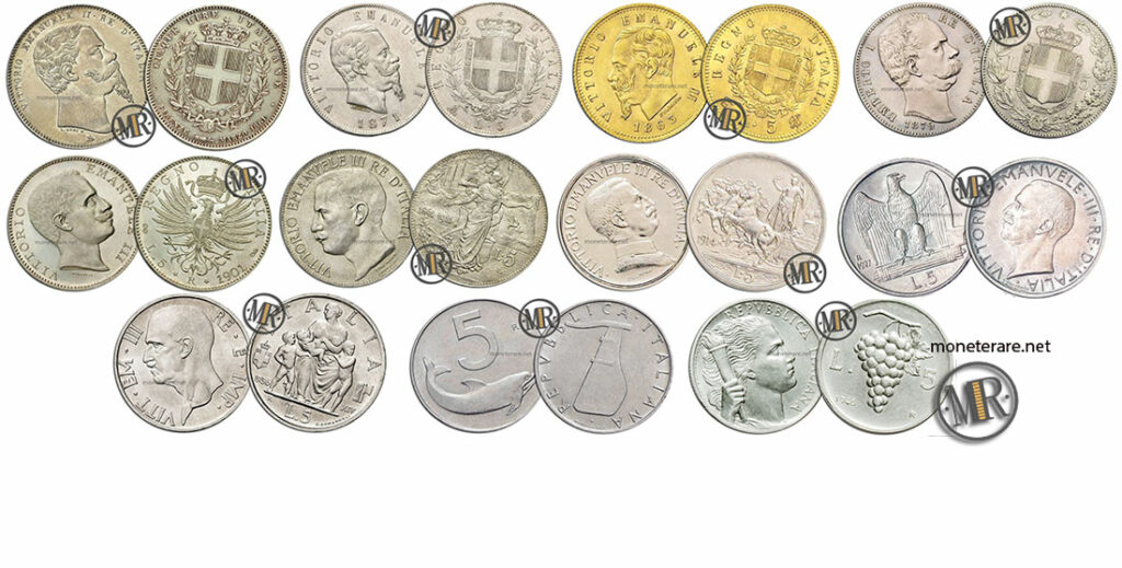 5 Lire