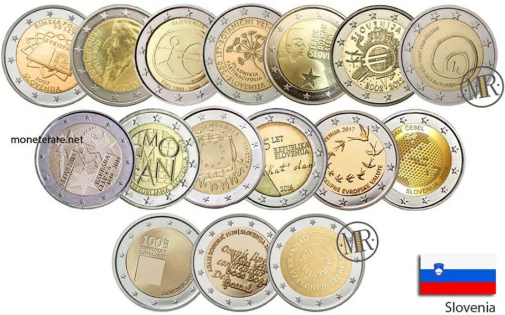 Commemorative 2 Euro Coins Slovenia
