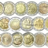Greek Commemorative 2 Euro Coins