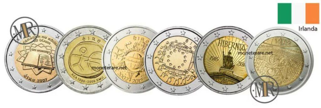 Ireland 2 Euro Coins