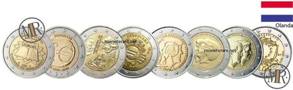 Netherlands 2 Euro Coins