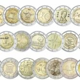 Belgium 2 Euro Coins